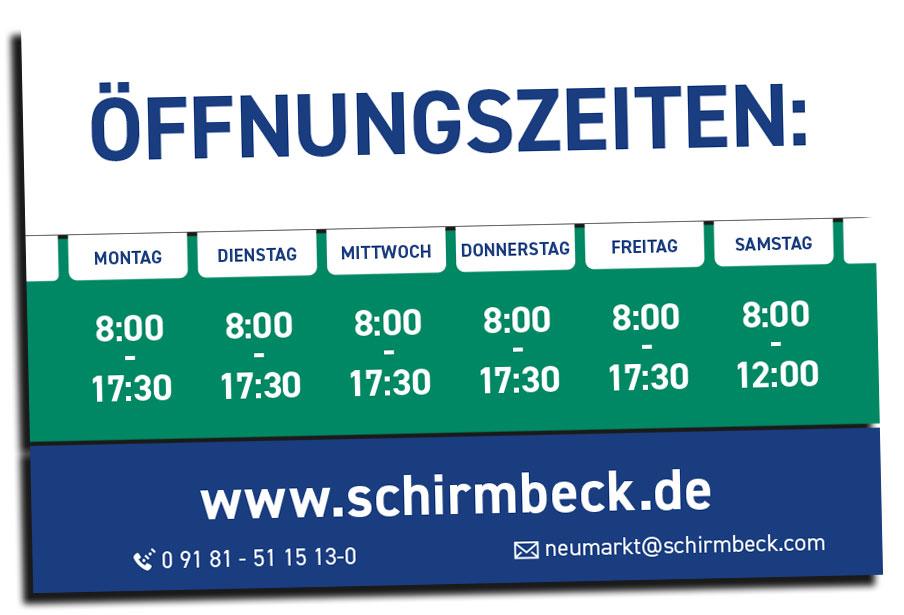 Schirmbeck-Öffnungszeiten-Neumakrt