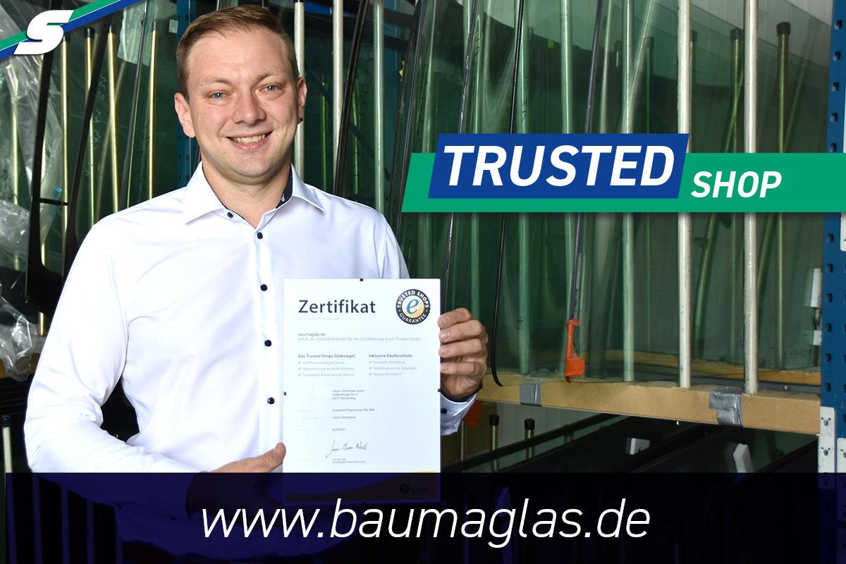 Schirmbeck Baumaglas zertifiziert